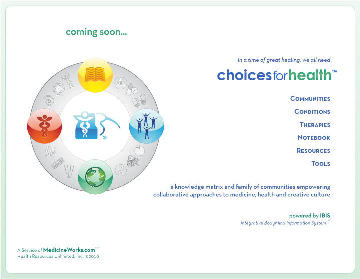 Choices for Health...coming soon...